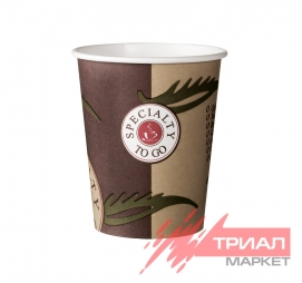 Стакан 250мл бумажный d=80мм Coffee-to-go